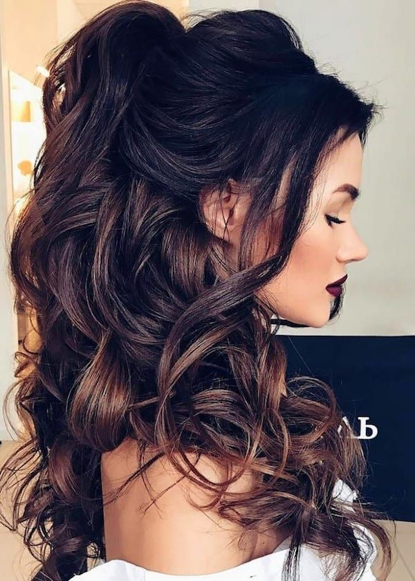 Frisuren Lange Haare Locken Trend Damen Frisuren Hair Styles Long Hair Styles Wedding Hair Inspiration