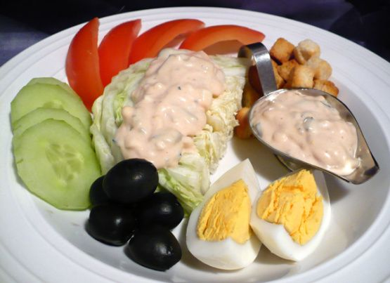 recipe: what salad goes with thousand island dressing [17]