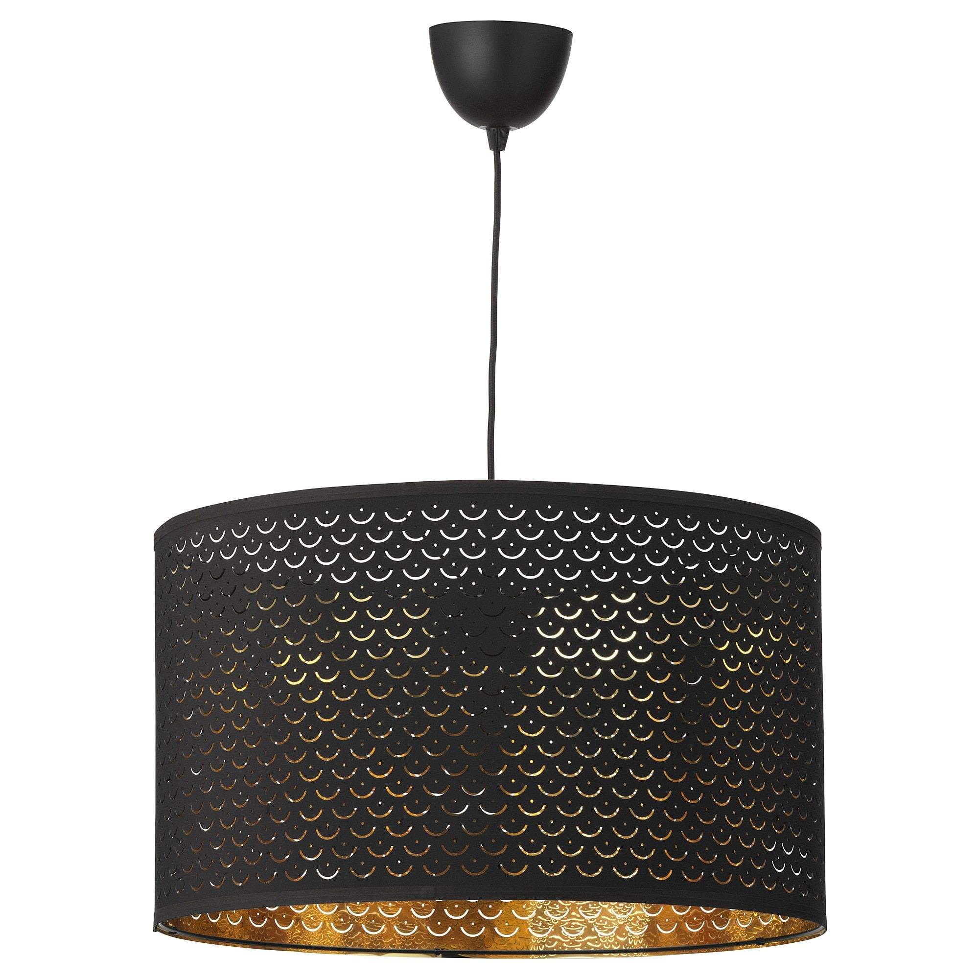 Creates A Decorative Light Pattern In The Room When The Light Shines Through The Perforated Shade Hanglamp Lampenkap Lampvoeten