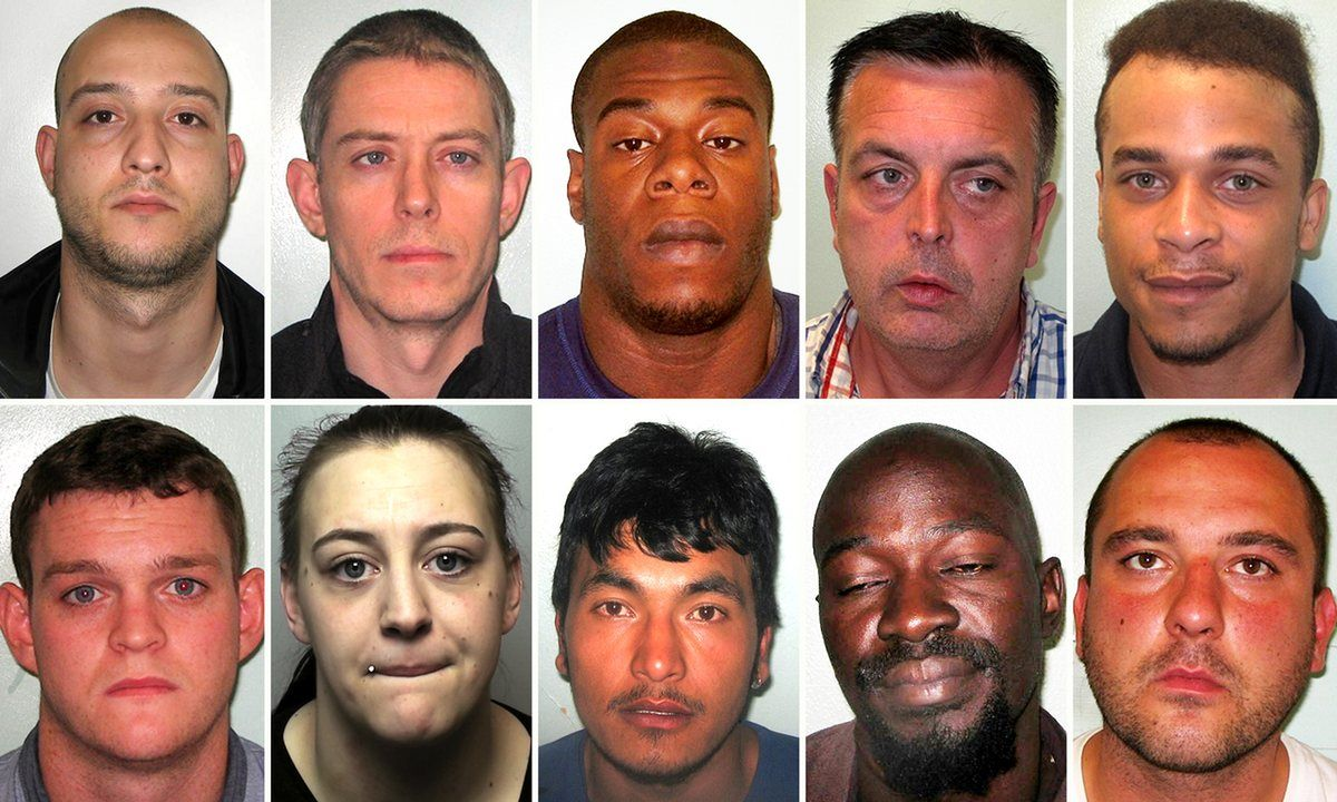 London's most wanted burglary suspects revealed (With