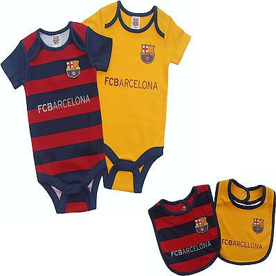 b230cbb8c4494 Fc  barcelona fcb 2016  babies body pram suit short  sleeve baby play grow