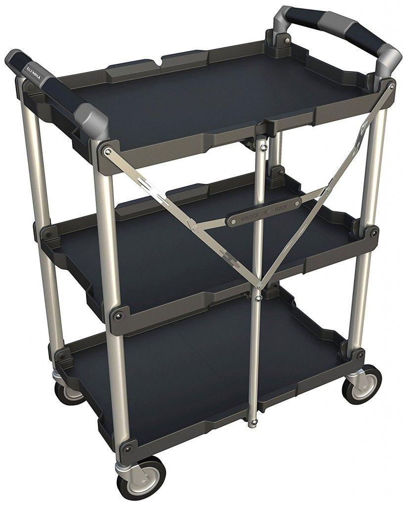 Folding Utility Cart Simple Storage Utility Cart Utility Storage