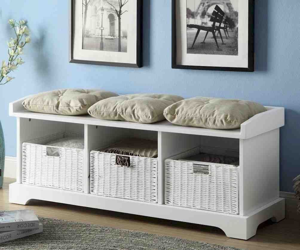 Storage Bench With Cushion Storage Bench With Cushion Storage