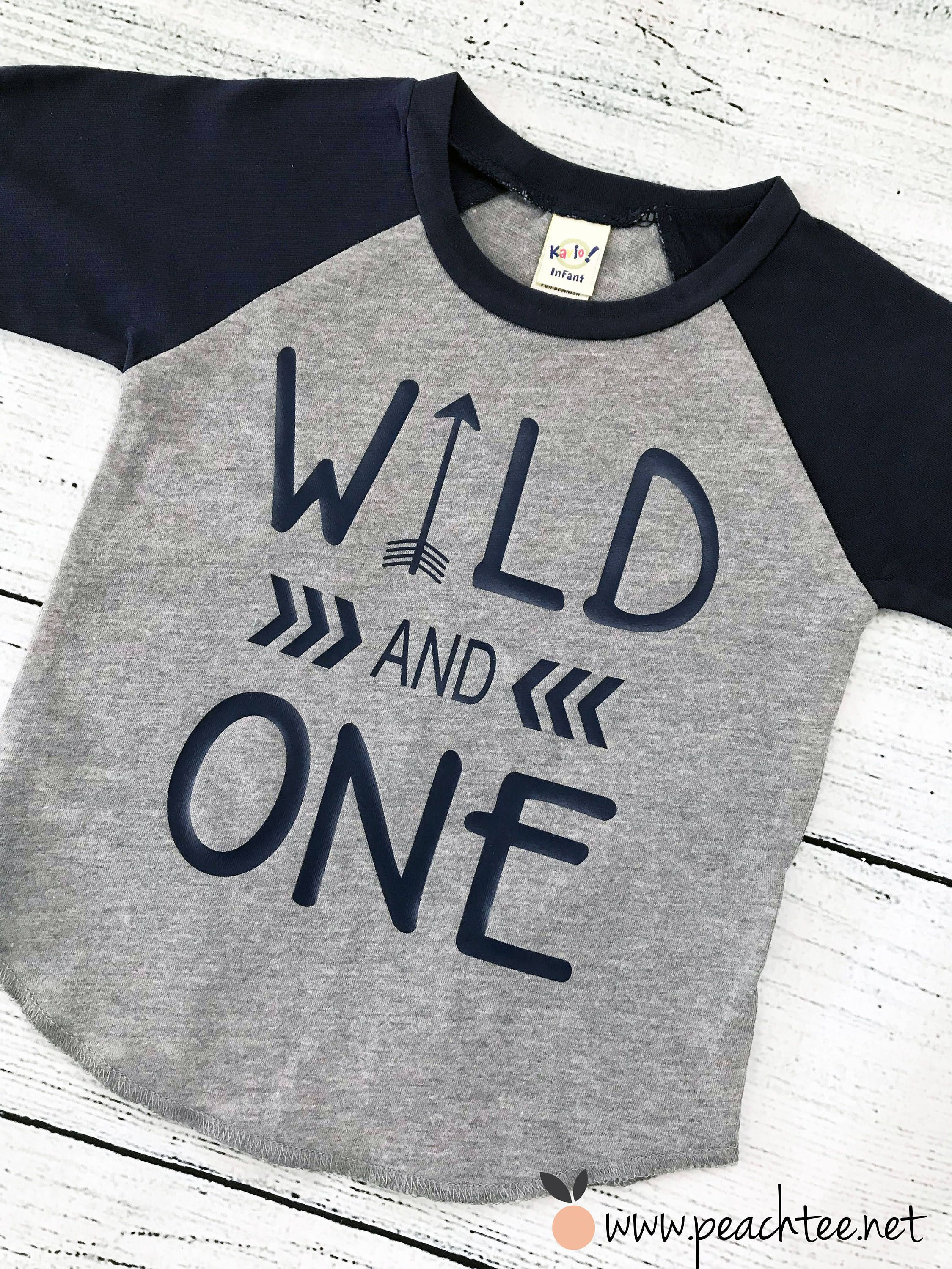e9b551f32 boys first birthday shirt, wild one, boys tshirt, birthday raglan, toddler  birthday, birthday gift for boys, one year old, by PeachTeeCo on Etsy