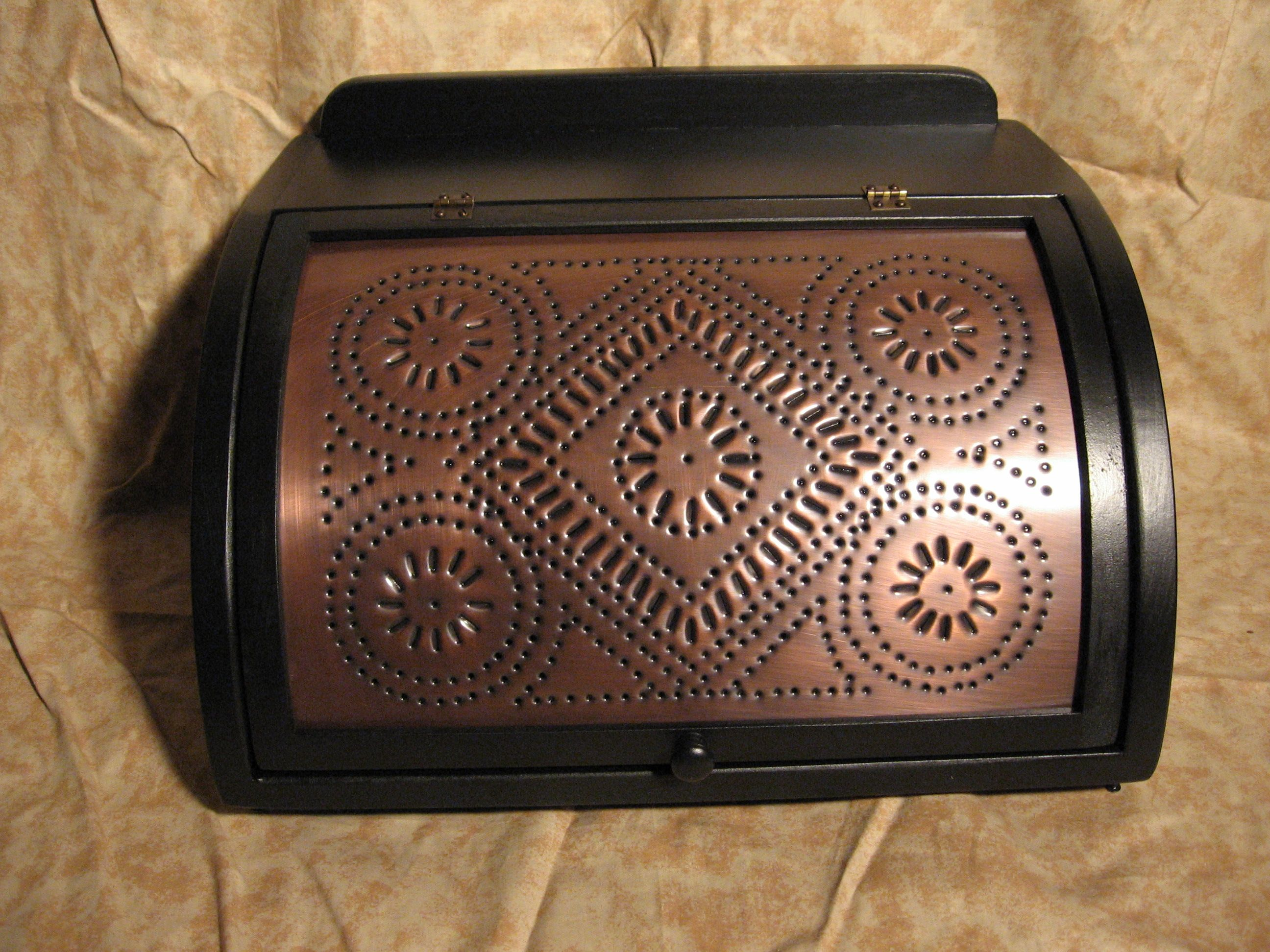 Tin bread box drawer insert - Here Is Our Ebay Feedback For This Bread Box A Seller Superbly Crafted With