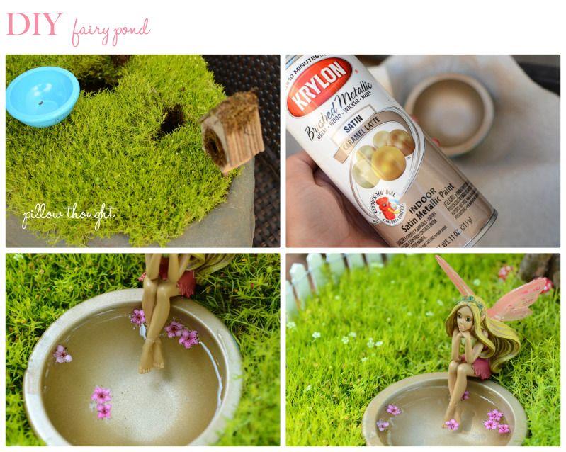 DIY Fairy Garden {behind the scenes}