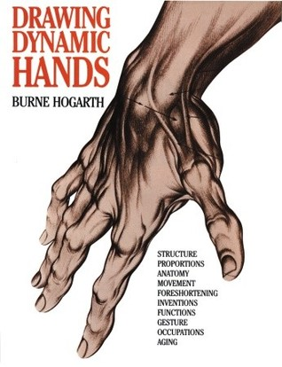 Drawing Dynamic Hands By Burne Hogarth In 2020 Drawings Book
