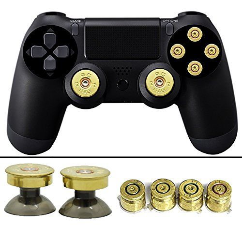 YTTL Thumbsticks Bullet Buttons and Bullet ABXY Buttons Set for ...