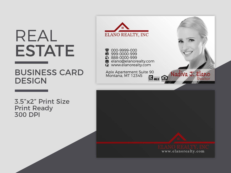 Real Estate Business Card Design Realtor Business Card Etsy In 2021 Business Card Design Realtor Business Cards Real Estate Business Cards