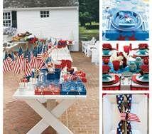 martha stewart fourth of July decorations