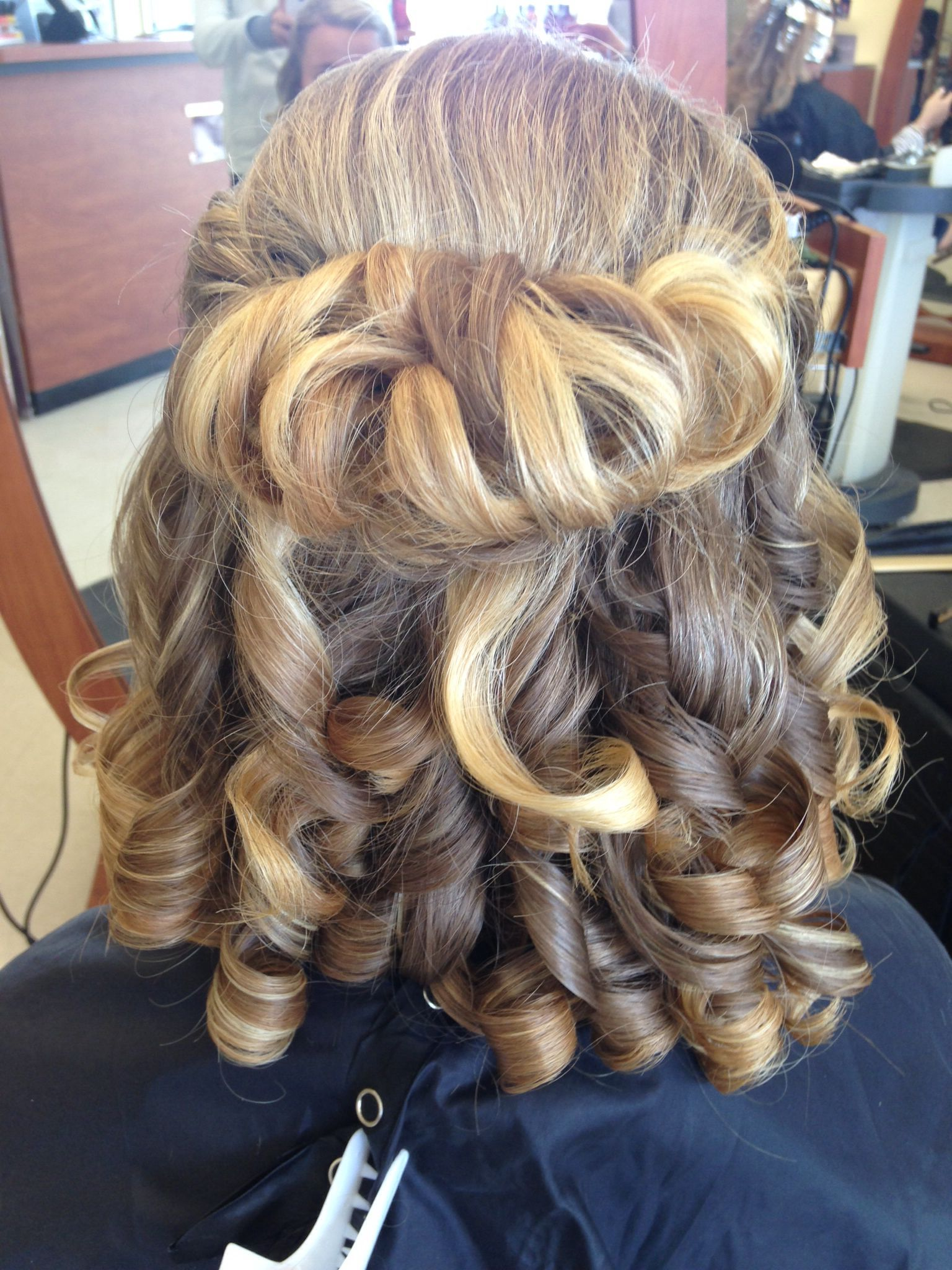 Prom hair for medium length hair | Hair lengths, Medium ...