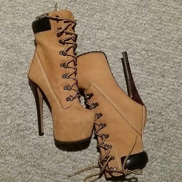 zigi timberland heels boots