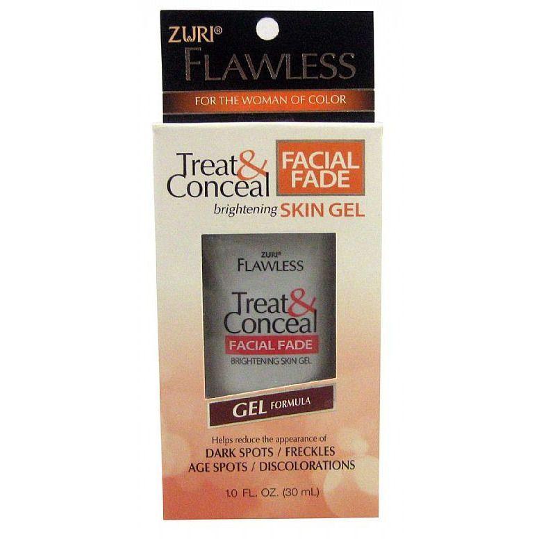 Zuri Flawless Treat & Conceal Facial Fade Brightening Skin Cream 1 oz. (Pack of 2) Glotherapeutics 15% Vitamin C, 1 Oz