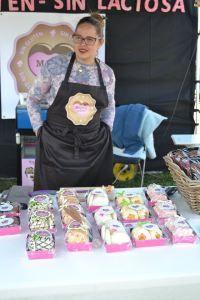 Izaskun, la repostera de Magora Bakery, obrador sin gluten y sin lactosa asociado a nuestra web www.apanymantel.com y ubicado en Carrantza