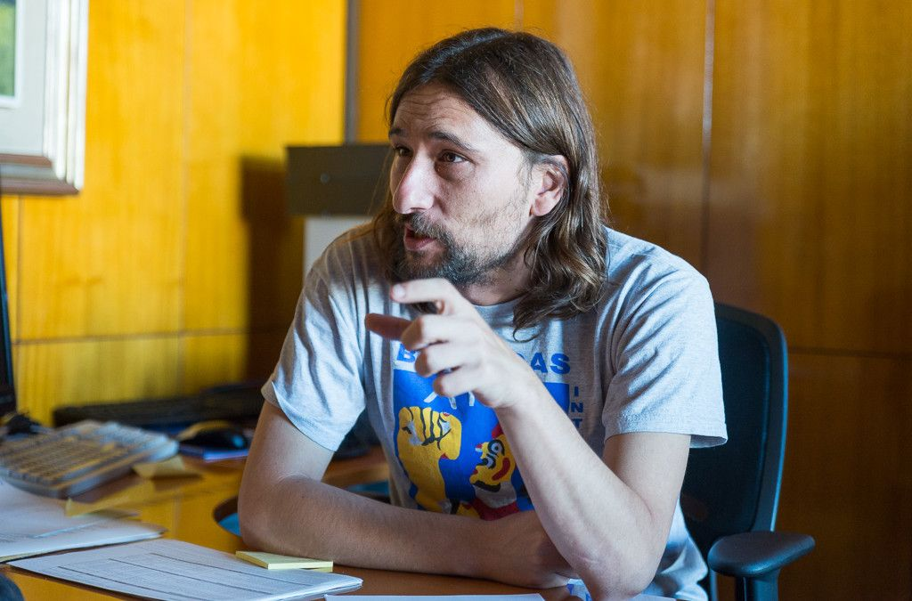 """Pablo Híjar: """"Anadón debería postularse para alcalde, que le apoyen el PP y Ciudadanos y que gestionen ellos la miseria"""""""