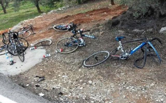 Cyclisme: six coureurs de Giant percutés par une voiture à l'entraînement -                  Six coureurs de l'équipe cycliste Giant-Alpecin ont été percutés par une voiture samedi lors d'un stage d'entraînement près d'Alicante, dans le sud-est de l'Espagne, ont annoncé la formation allemande et les services de secours.  http://si.rosselcdn.net/sites/default/files/imagecache/flowpublish_preset/