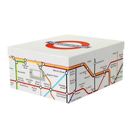 London Underground Collection Storage Box  sc 1 st  Pinterest & London Underground Collection Storage Box | For the Home | Pinterest ...