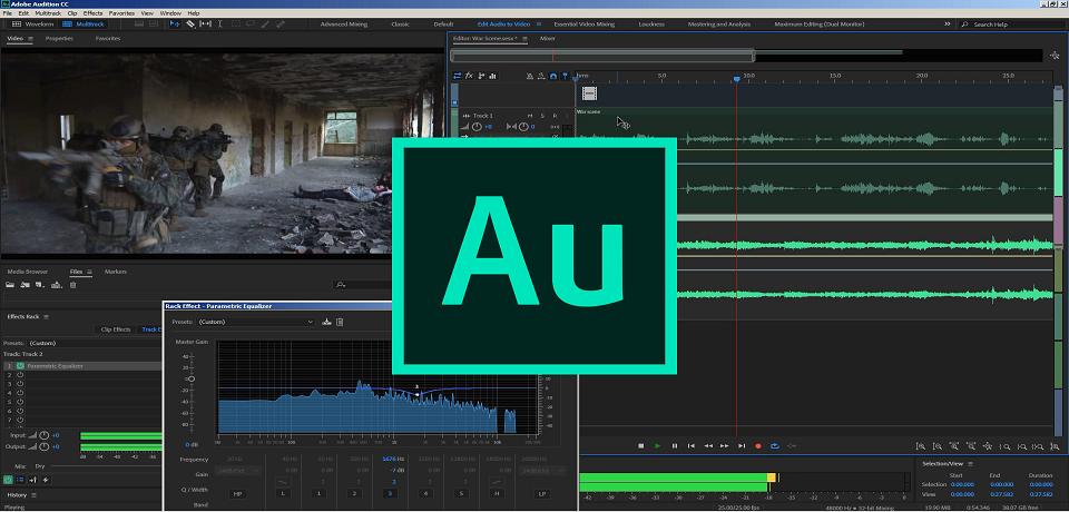 10 Best Adobe Audition Tutorials For Audio Editing Adobe Audition Adobe Audition Tutorial Audition