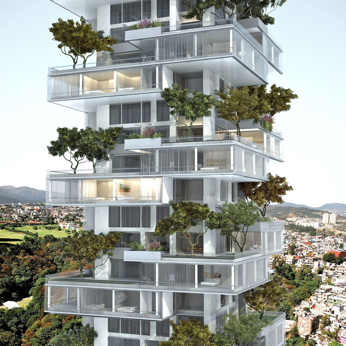 Gallery of residential tower meir lobaton kristjan for Residential architecture design