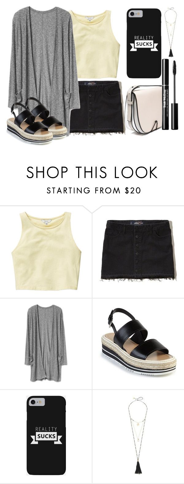 """Sin título #941"" by lululafitte on Polyvore featuring moda, Talula, Hollister Co., Prada y Mishky"