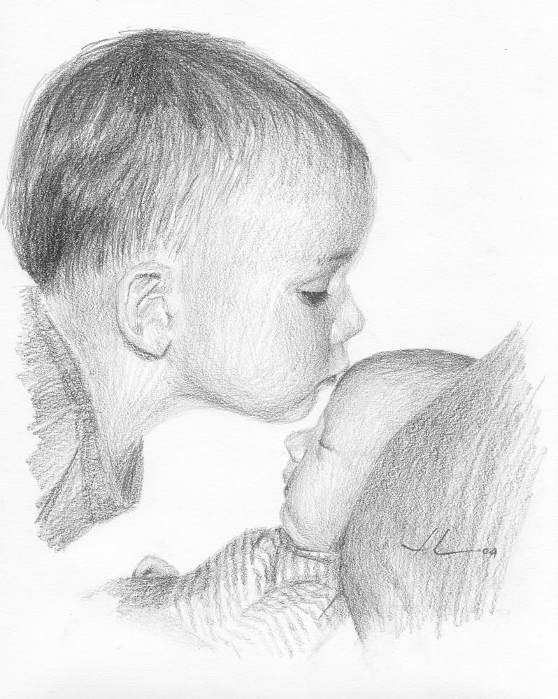 sketches of Jesus with children - Google Search   Portrait ...