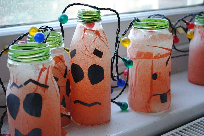 Upcycled Halloween DIY