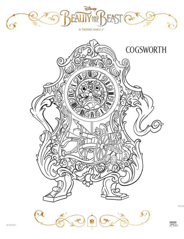 Disney Beauty And The Beast 2017 Coloring Pages Beast, Sample - beauty specialist sample resume
