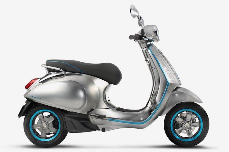 Vespa Announces Price Of Long Awaited Electric Scooter And Starts