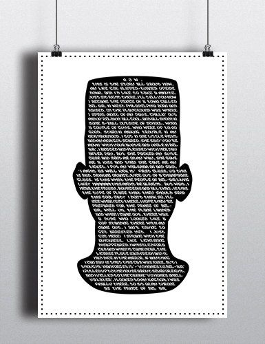 Fresh Prince of Bel Air silhouette containing all the lyrics from - fresh blueprint party band