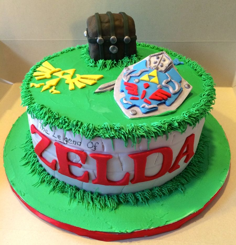Legend of Zelda Cake Yummy Pinterest Zelda cake Cake and