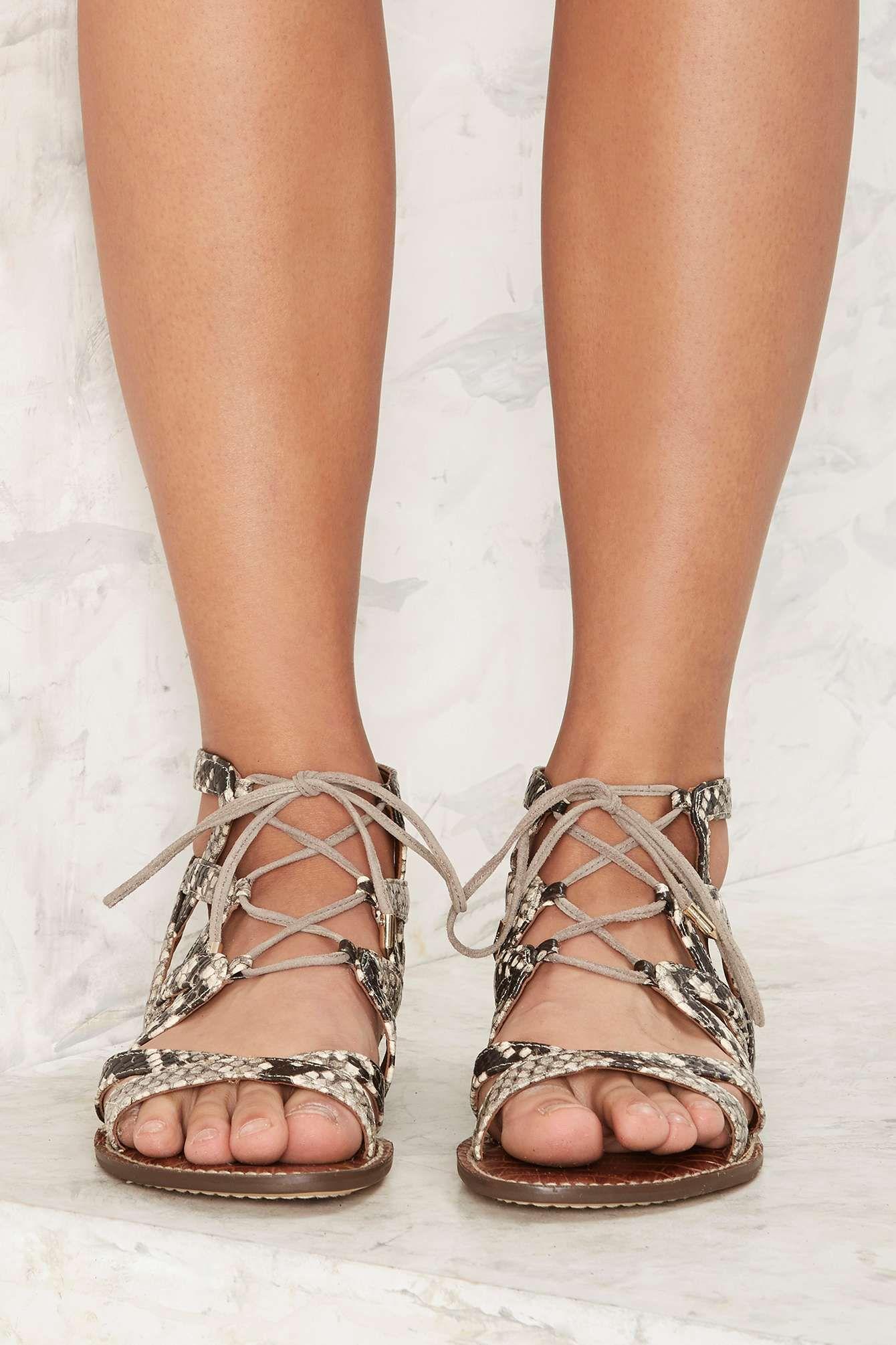 quality design 8ca5d 1439f Sam Edelman Gemma Gladiator Sandal | Shop Shoes at Nasty Gal ...