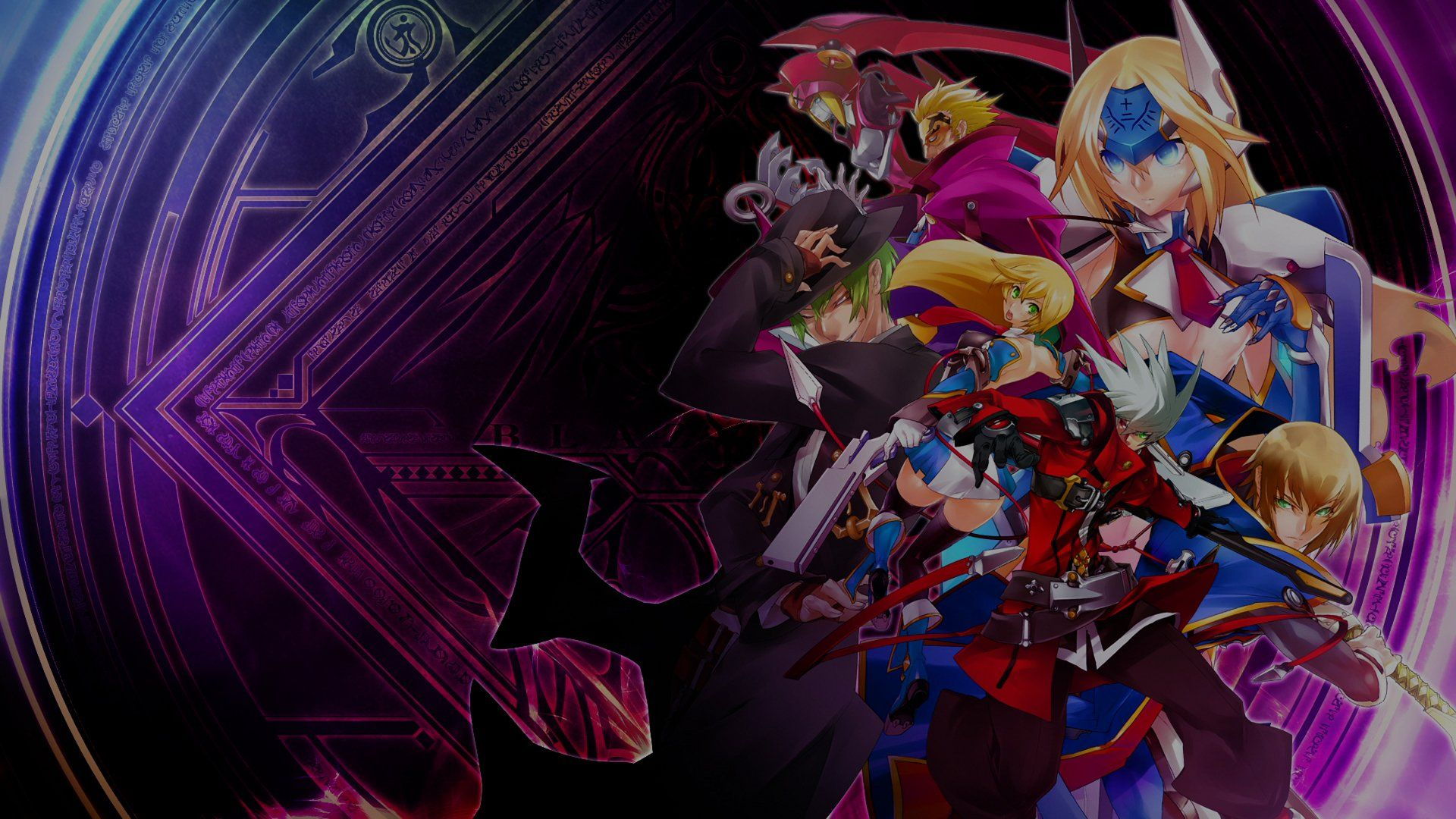 1920x1080 Blazblue Calamity Trigger Wallpaper Background Image View Download Comment And Rate Wallpape Wallpaper Backgrounds Wallpaper Background Images