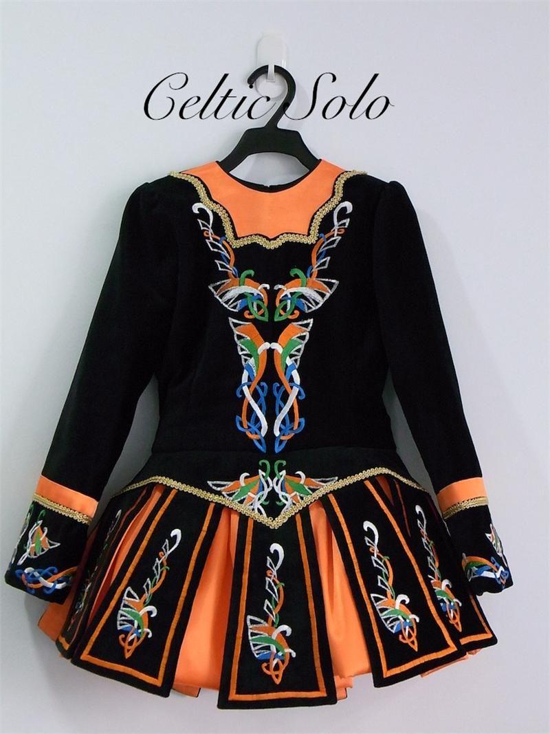 Chelsea 09a012 By Celtic Solo Irish Dance Solo Dress Irish Dancing Dresses Irish Solo Dress
