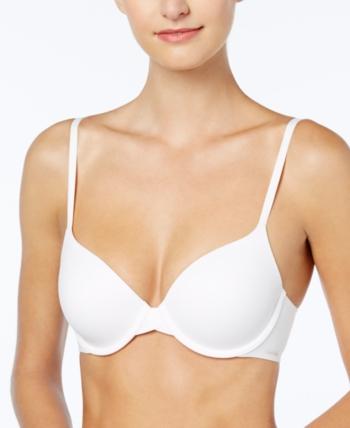 27034f95b9bc4 Calvin Klein Perfectly Fit Full Coverage T-Shirt Bra F3837 - White 38B