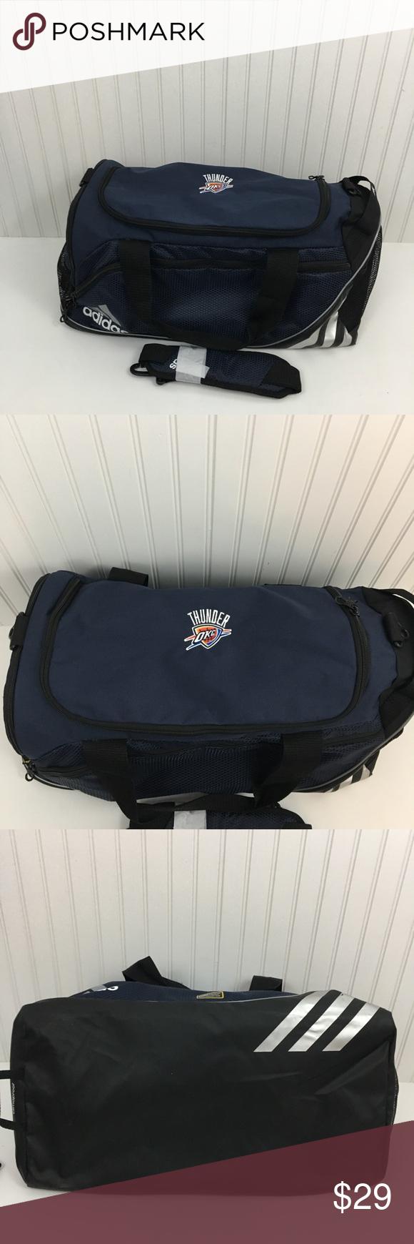 c3ee2cd74fb9 Adidas team issue duffel bag Okc thunder