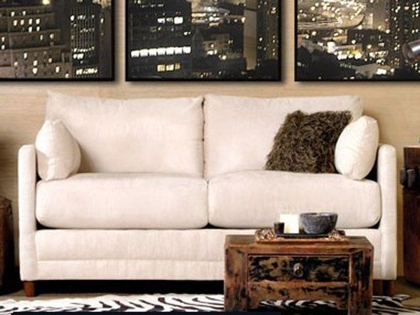 The Softee Beige From Jennifer Convertibles Is A Sofa Bed That S Only 65 Inches Wide And You Get Couch In One For Just 399