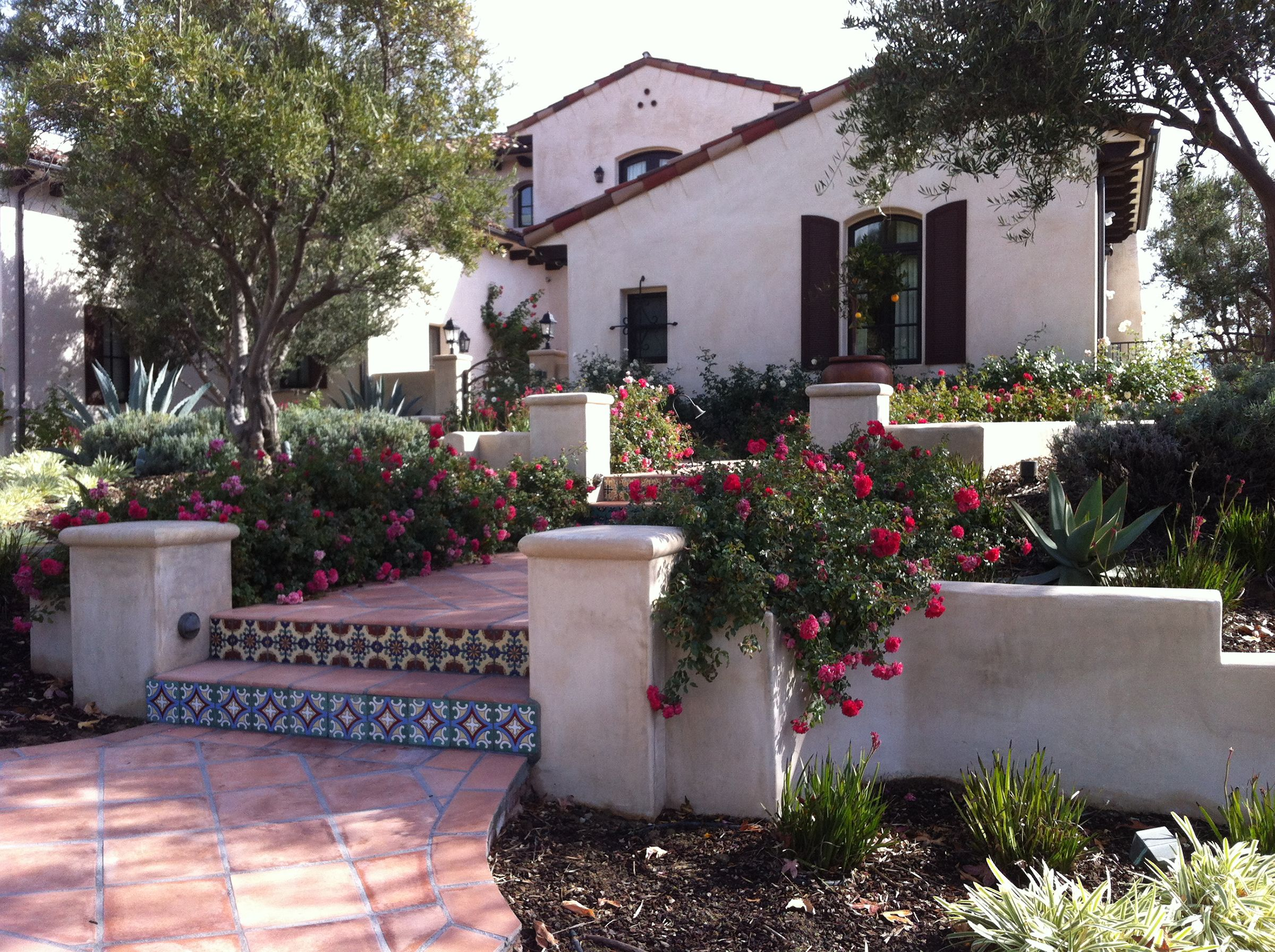 Spanish Revival Design By My Garden: Landscape Creations