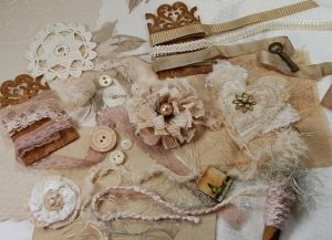 Shabby Victorian Suede - Textile & Embellishment Collection by velma
