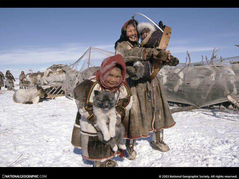 Nenets, Nganasan, and Selkup people