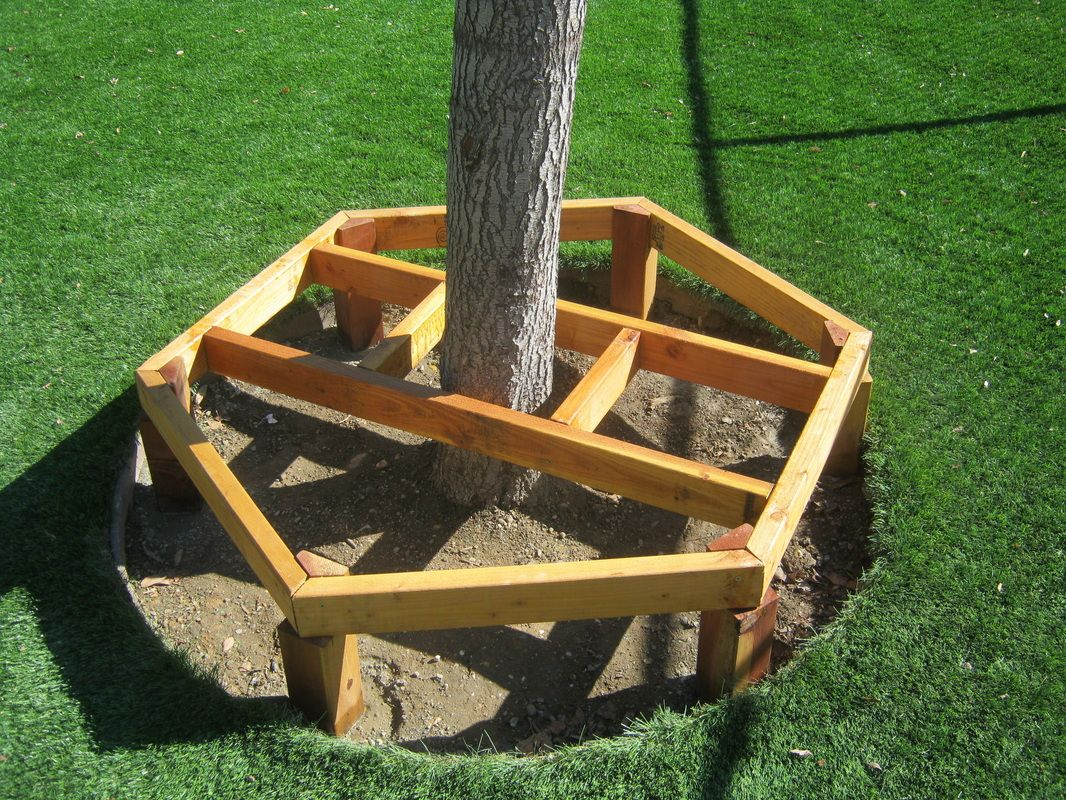 bench around a tree plans - 28 images - how to build a ...