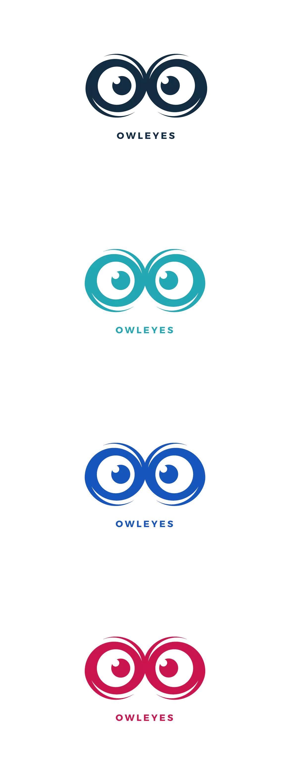 Owl Eyes Logo Template Ai Eps