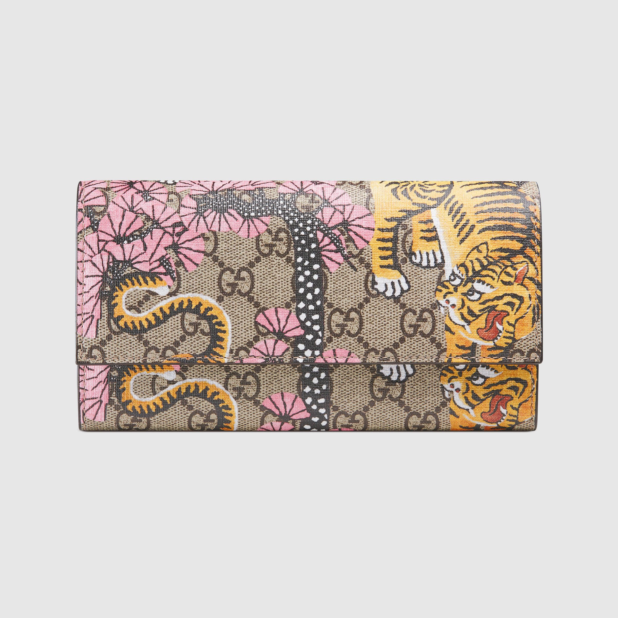 Gucci Bengal continental wallet - Gucci Women's Continental 452349K6D1G9967