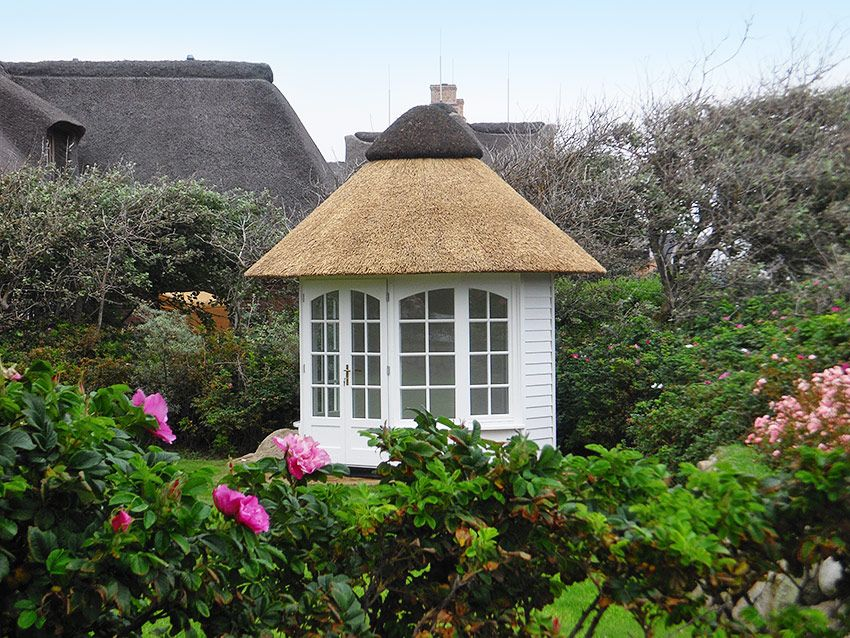 Runde Pavillons Reetdach - Kötter Pavillon :: Die Gartenpavillon ...