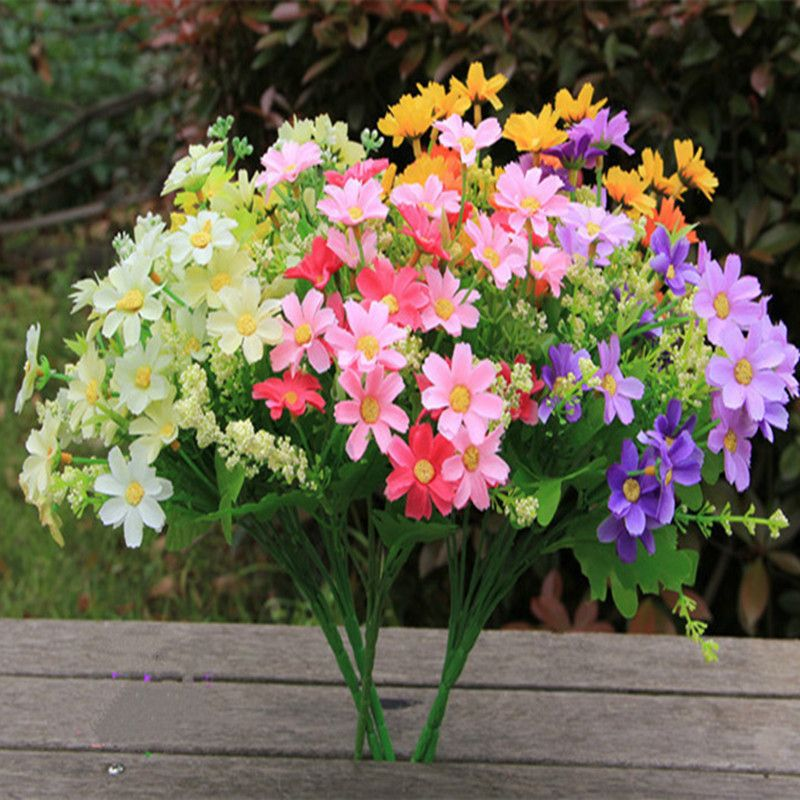 1 69us Jump Orchid Chrysanthemum Artificial Flowers Silk Flower Artificial Flowers Dried Flowers Home Decoration Small Cuihua Rich Chry Flower Pistil Decorat Artificial Flowers Dried Flowers Silk Flowers