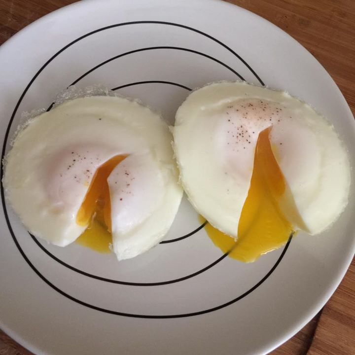 Poached Eggs In The Instant Pot Large Eggs Straight Out Of The Fridge 1 Cup Of Water In Pot Tri Instant Pot Recipes Pressure Cooker Eggs Instapot Recipes