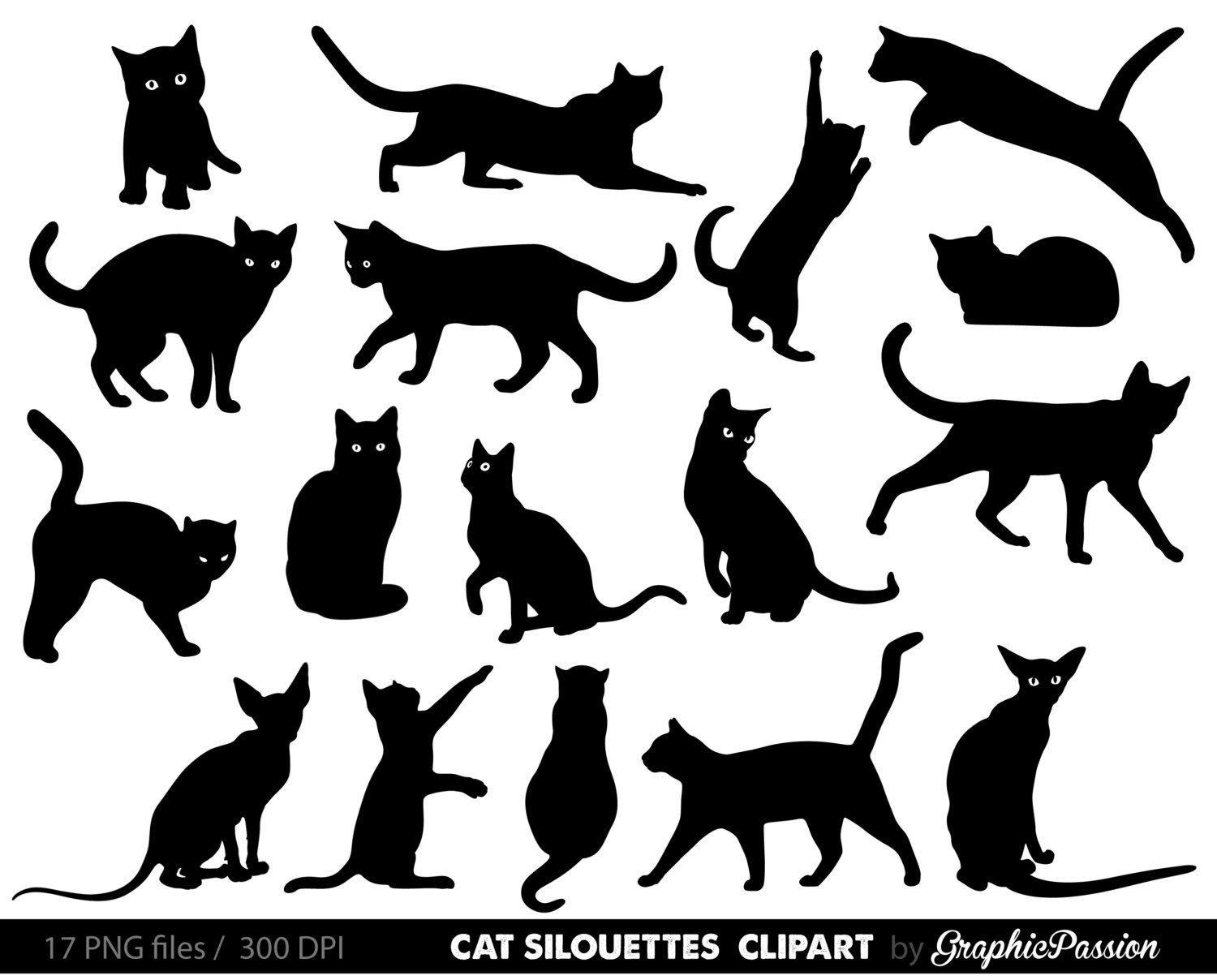 Cat Clipart Image Editing Handmade Crafts Cupcake Toppers Embroidery Patterns Coloring Pages Cute Animals Small Businesses Web Design