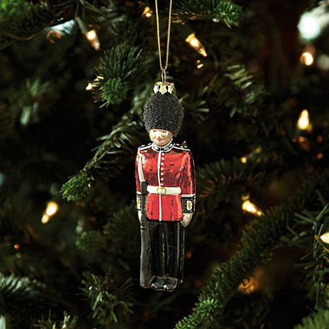 Part of our classic English Christmas collection, these keepsake London ornaments take us back to one of our favorite cities at the most beautiful time of year. All of the iconic symbols of London are included and beautifully rendered in glass with hand painted details and glittering accents.