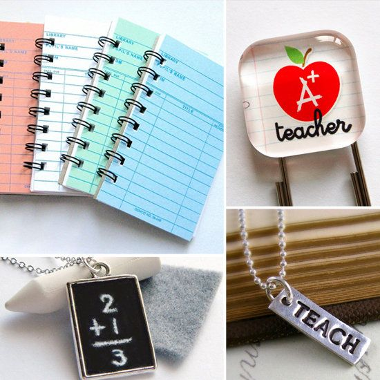 10 Affordable Etsy Gifts For Your Teacher Pals-