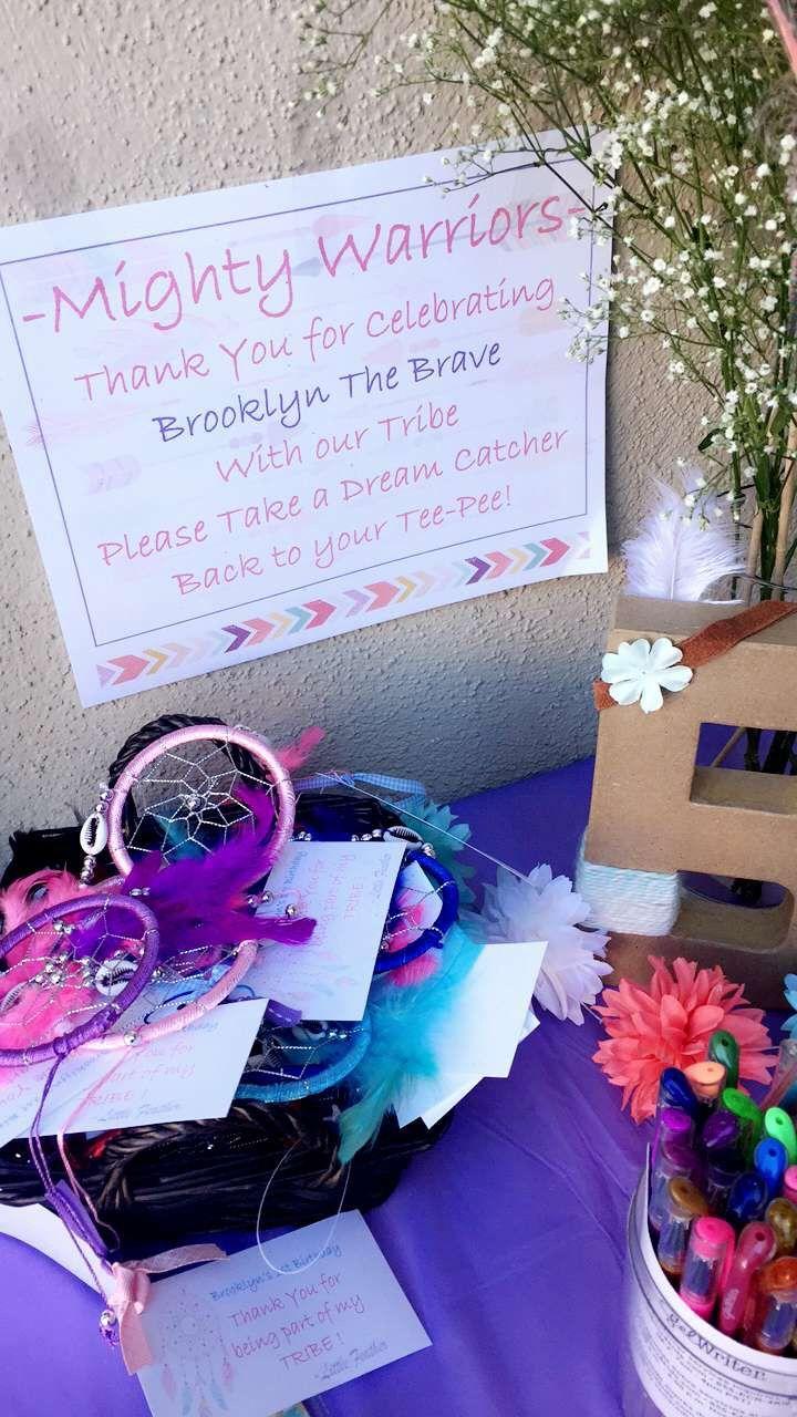 Wild One Girl Tribal Birthday First Birthday Tee Pee Pow Wow Dream Catchers Wild One Birthday Party Girl First Birthday Horse Birthday Parties
