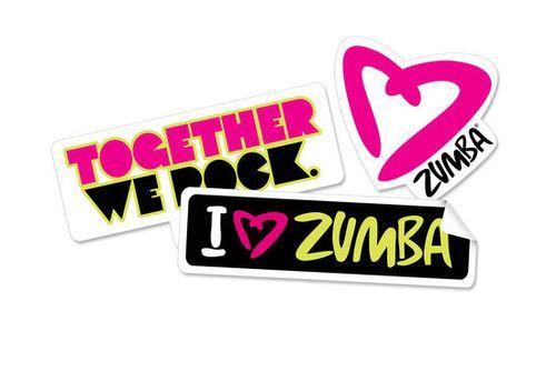 Zumba Together We Rock Stickers Zumba Zumba Funny Zumba Toning